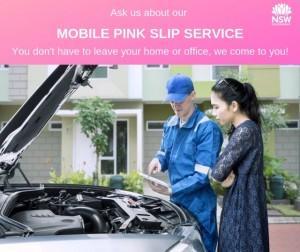 Mobile Pink Slip Service